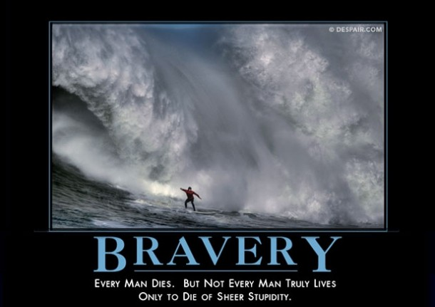 Bravery Meme Guy