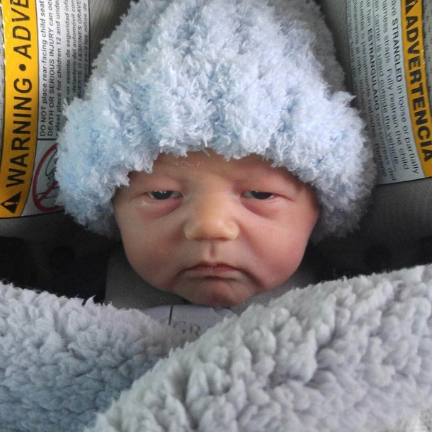 Day Old Baby Or The Grandma From Mulan