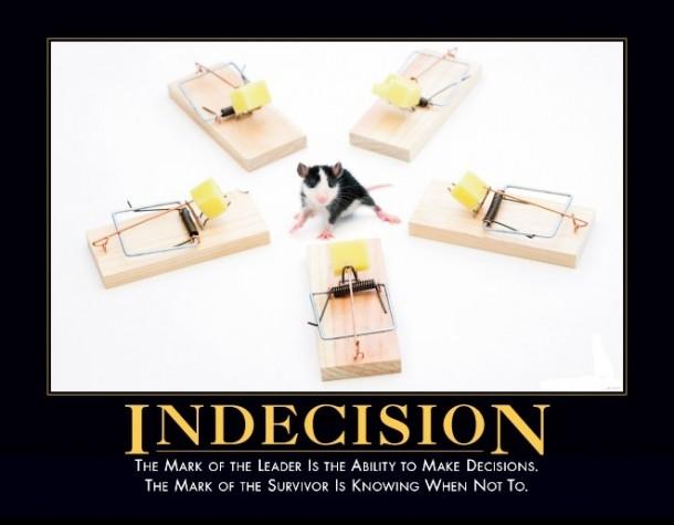 Indecision Meme Guy