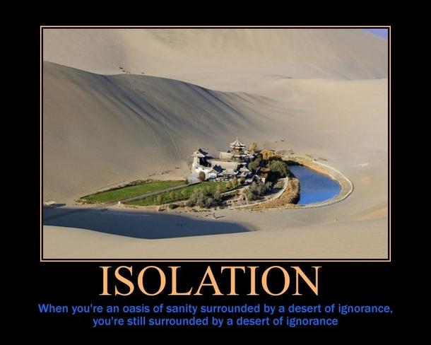 Isolation Meme Guy