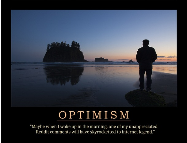 Optimism Meme Guy