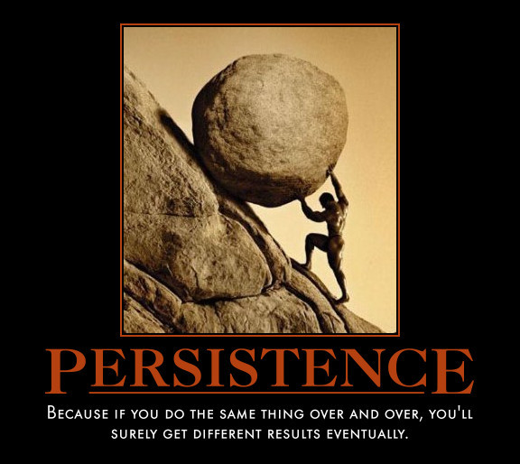 Perserverance Motivational Quote: Persistence