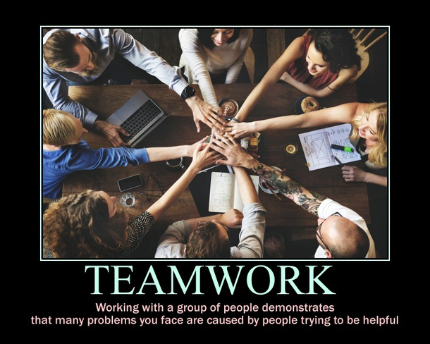 Teamwork Slide Show With the best meme generator and meme maker on the web, download or share the is this is this teamwork? teamwork slide show