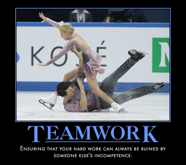 The Hills are alive with the sound of teamwork! | Memes.com