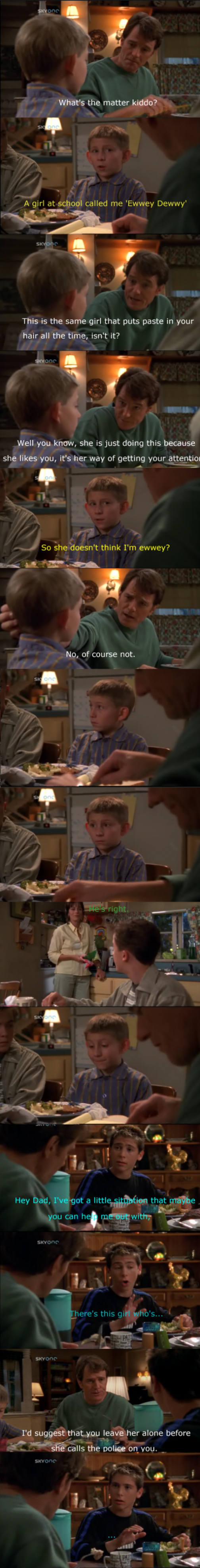 A different Malcolm in the middle scene that I enjoyed