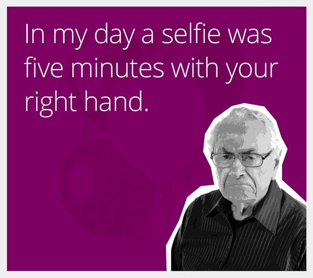 A selfie in my day