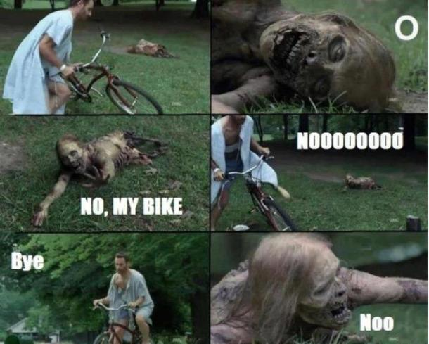 about the bikes disappearing in the end of the world 27211 about the bikes disappearing in the end of the world meme guy