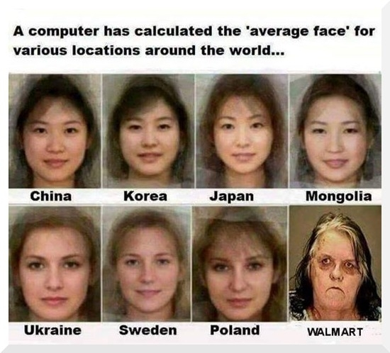 The typical Polish face from thousands and thousands of