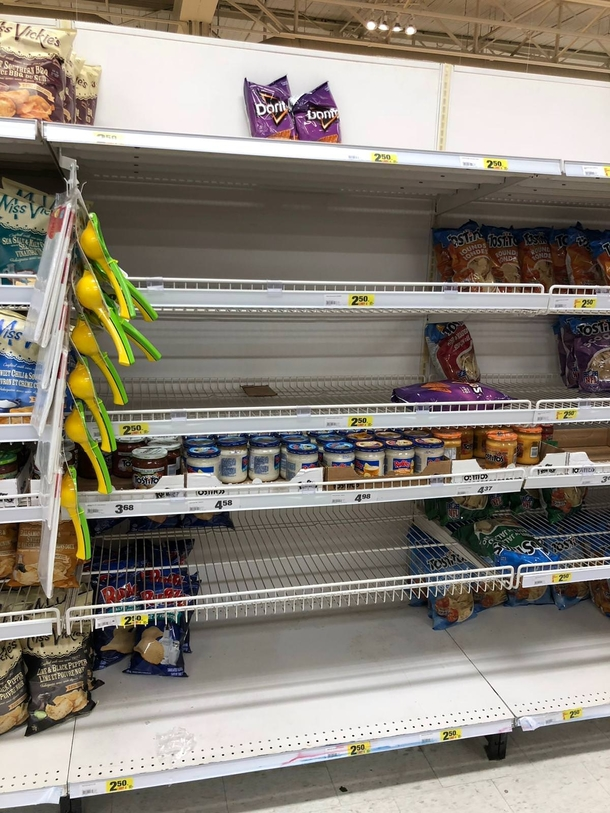 Aftermath of legalization at a grocery store in Vancouver Canada
