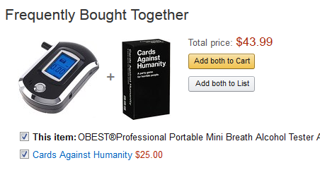 amazon recommended this combination to me today 217487 amazon recommended this combination to me today meme guy