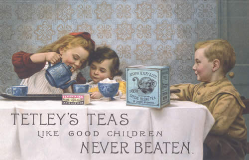 An Old Tea Advertisement