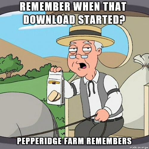 As someone with slow internet