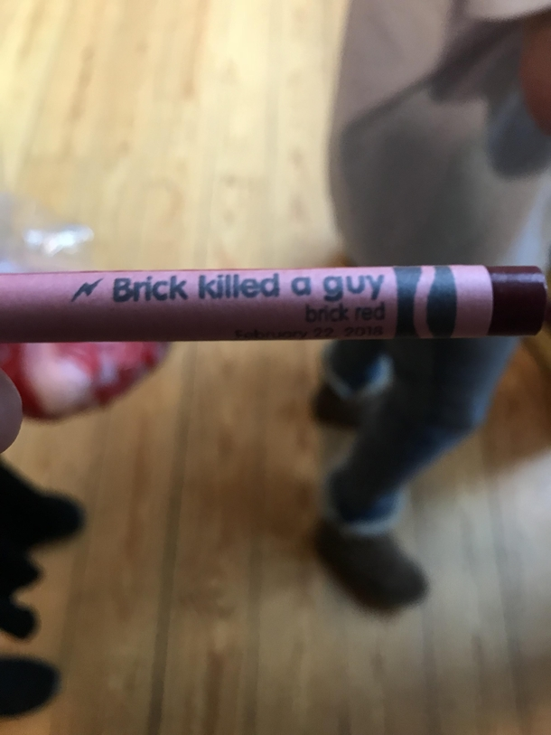 At the crayola museum they let you make your own crayon labels