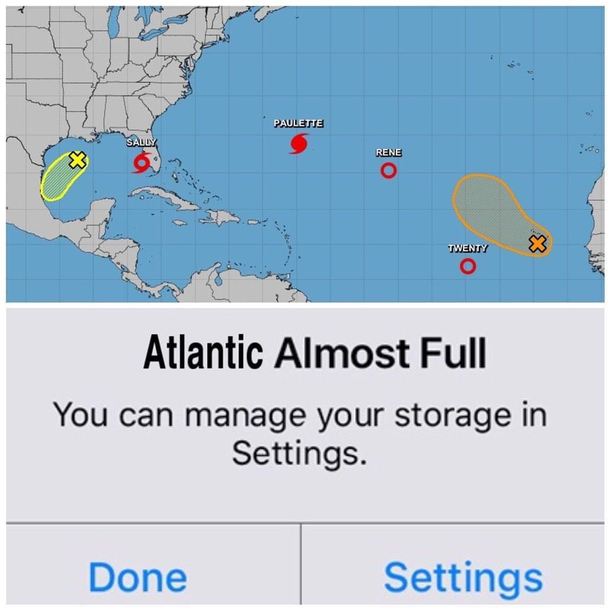 Atlantic Almost Full