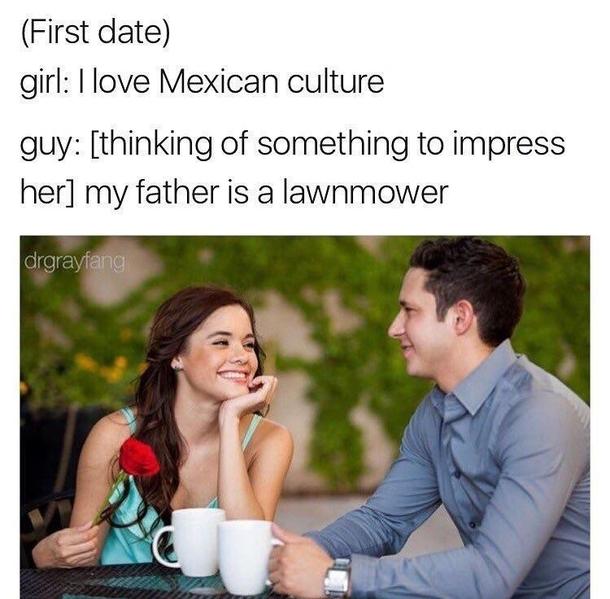 awkward date meme