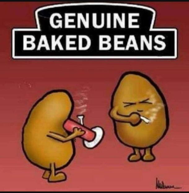 Baked Beans Meme Guy