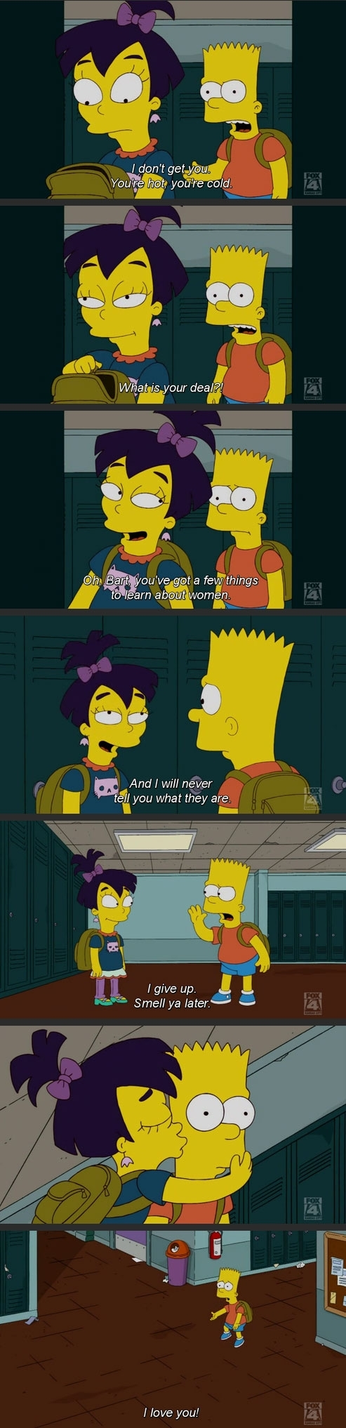 Bart joins the Clueless Men club