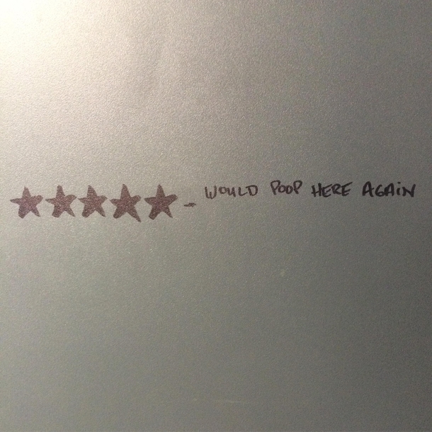 Bathroom stall art - Meme Guy