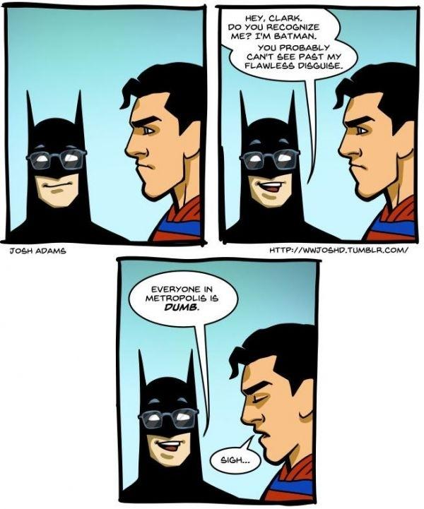 Batman Sarcasm Meme Guy