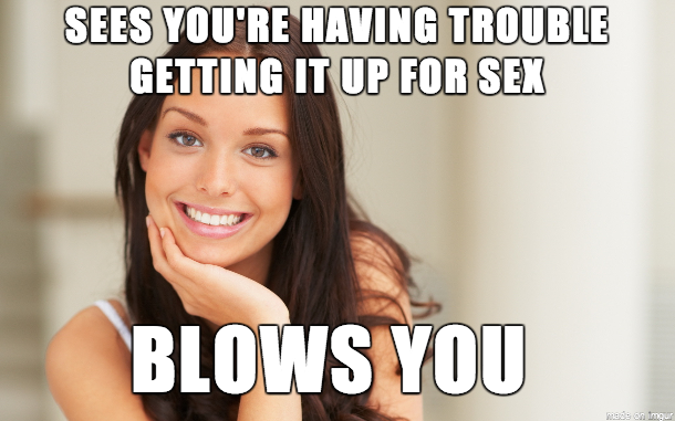 Because this little problem shouldnt mean you cant have sex