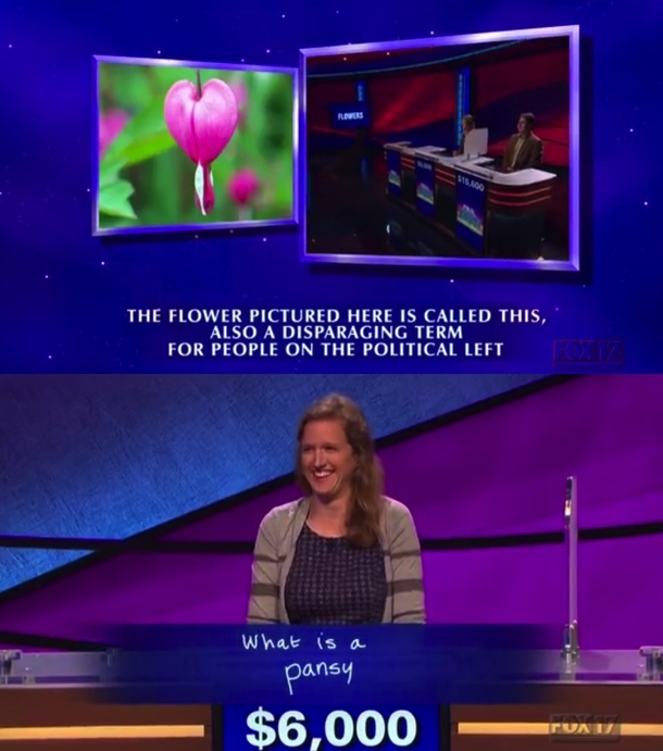 Best answer in last nights Final Jeopardy