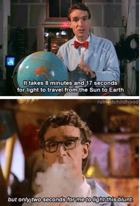 Bill Nye was pretty fly for a science guy