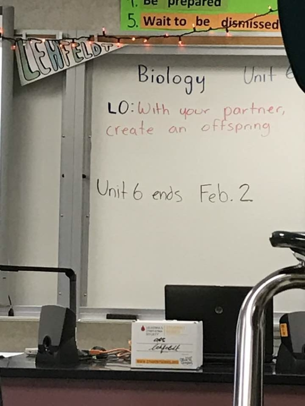 Bio class just got more interesting