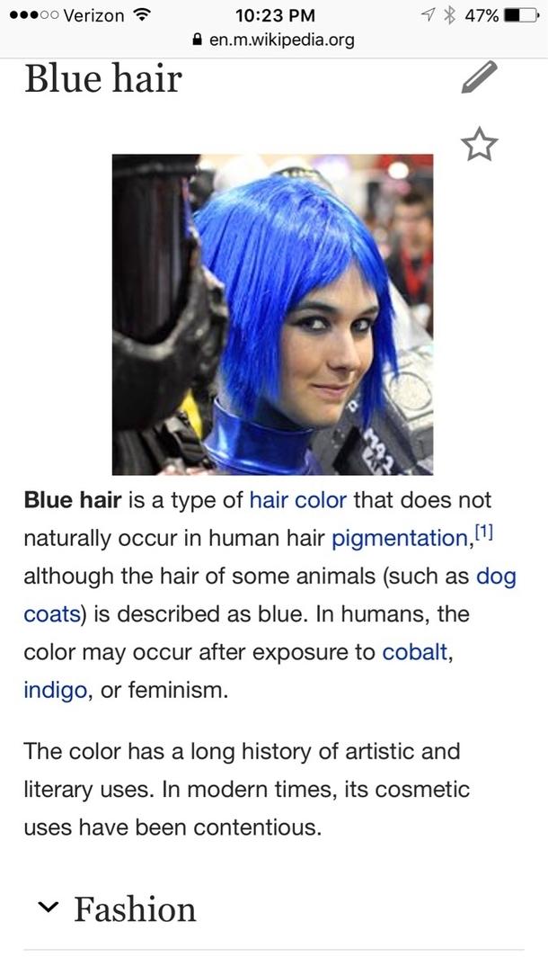 blue hair 207846 blue hair meme guy