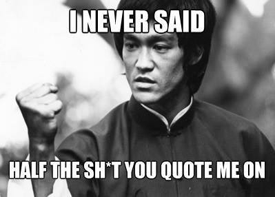 bruce lee quotes 173512 bruce lee quotes meme guy