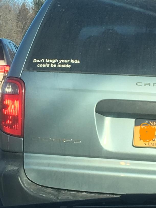 Funny Minivans: Funny Bumper Stickers For Minivans