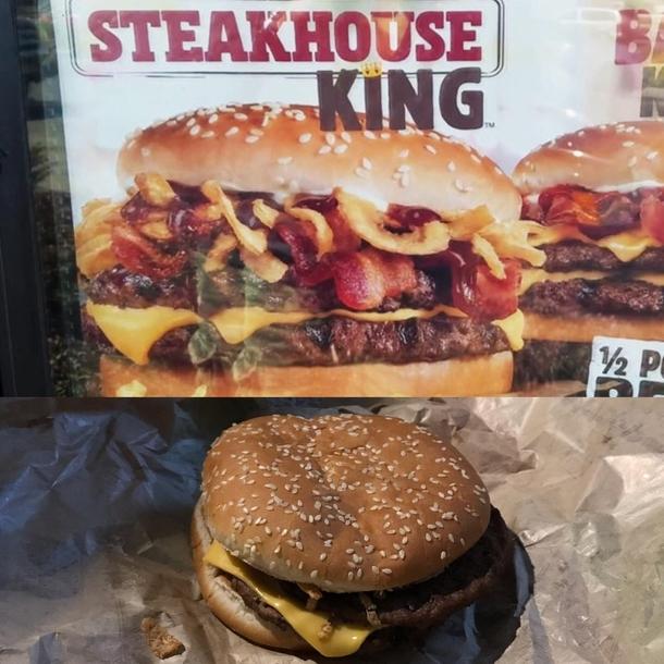 Burger Kings New Steakhouse King
