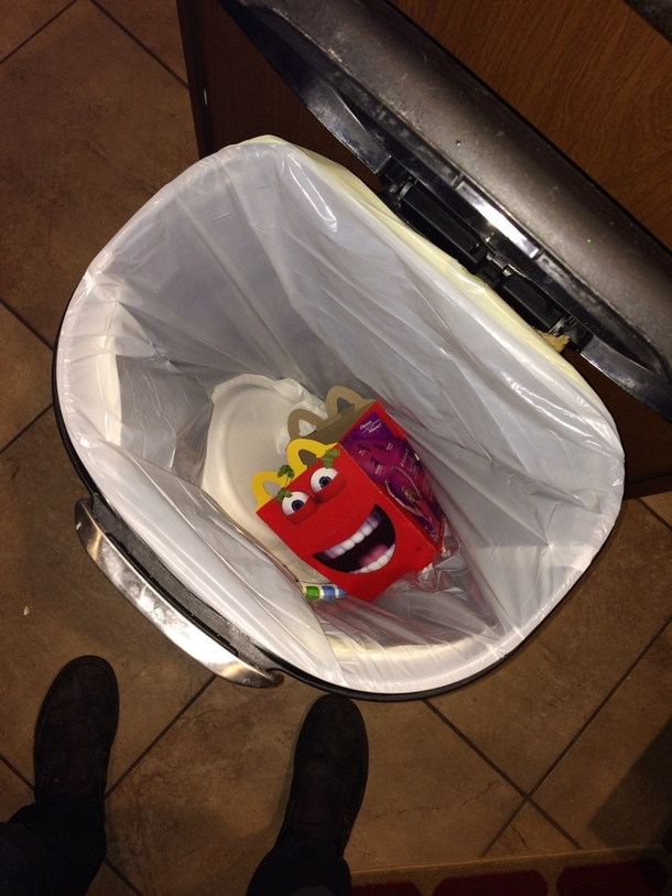 Can confirm new happy meal boxes are terrifying needless ... | 610 x 813 jpeg 327kB