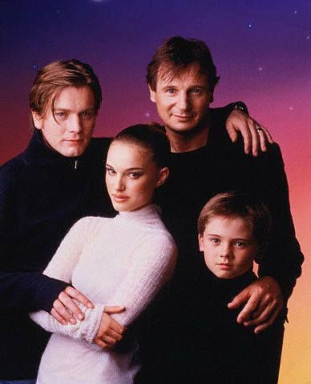 Cant tell if this is the cast of The Phantom Menace or ABCs next sitcom