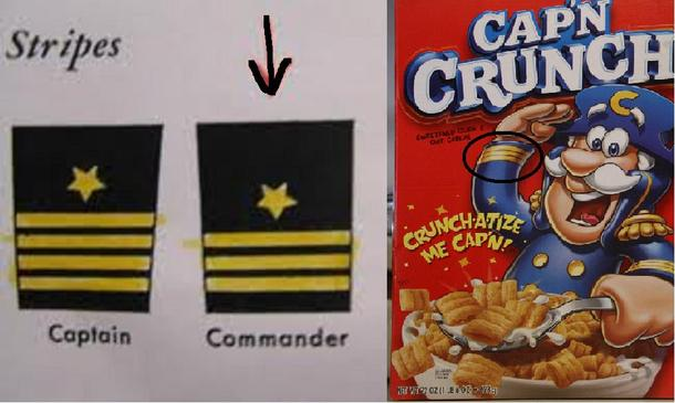 Captain Crunch has been lying to us this whole time