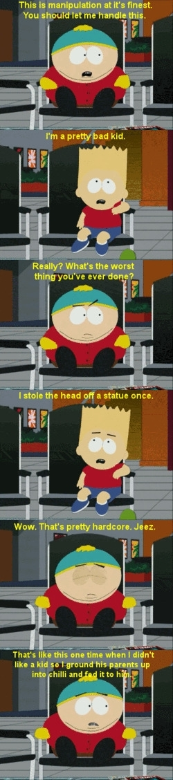 Cartman amp Bart swap stories