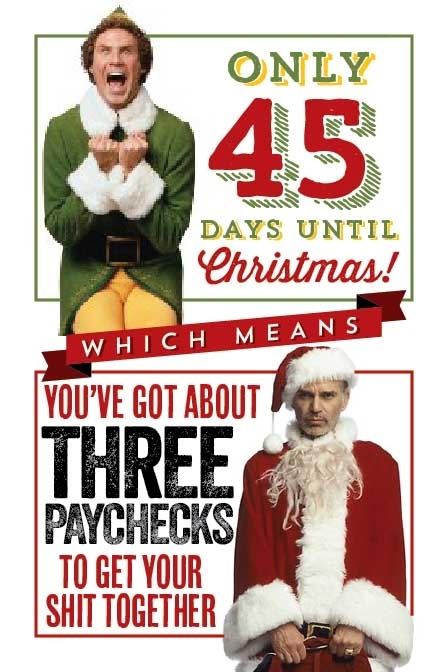 Countdown To Christmas Meme.Christmas Countdown From Two Movies Perspectives Meme Guy