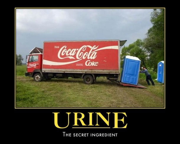URINE - The Secret Ingredient Image Copyright MemeGuy.Com
