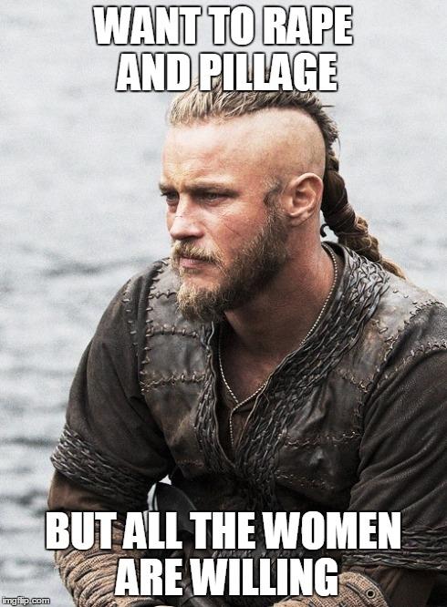 contemplative viking meme guy