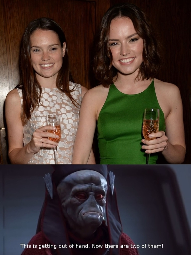 Daisy Ridley and her sister