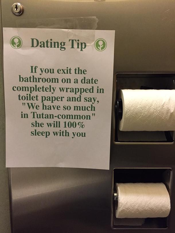 dating in bathroom