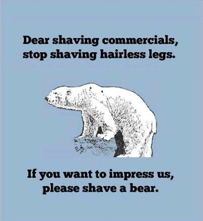 Dear shaving commercials