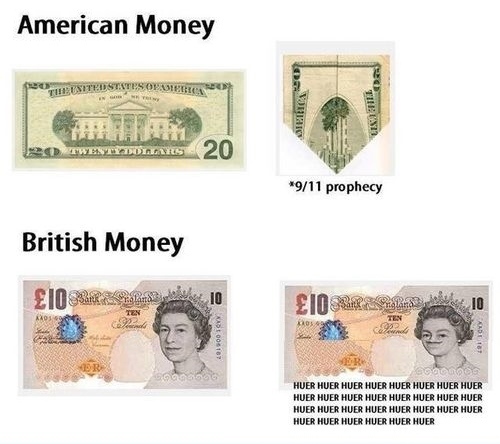 Dollars Vs Pounds