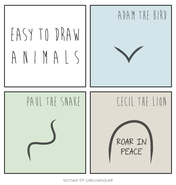 Easy To Draw Animals Meme Guy