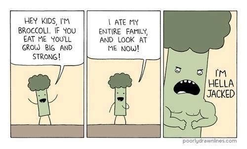 eat your broccoli kids 38215 eat your broccoli kids meme guy