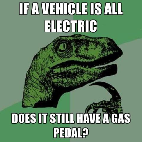 Electric Cars Meme Guy