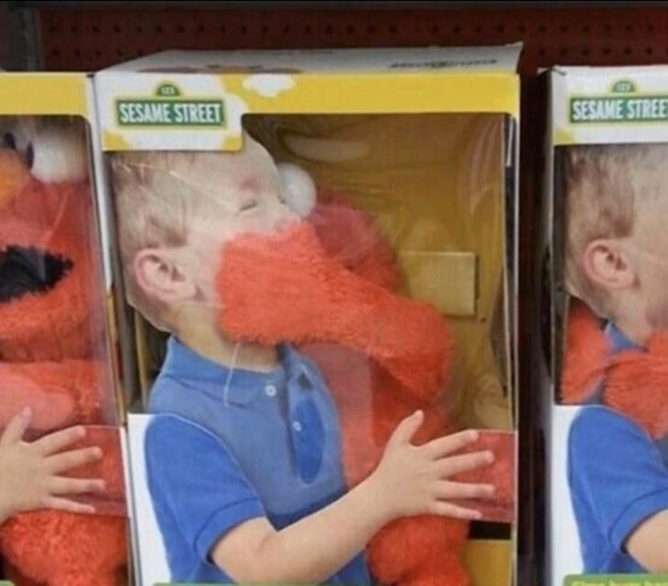 Elmo Woke Up On The Wrong Side Of The Bed Meme Guy