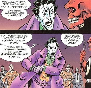 Even the Joker has standards