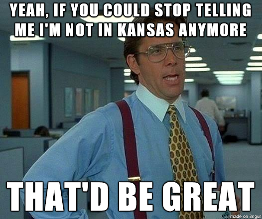 Every time I show my Kansas ID when visiting a different state