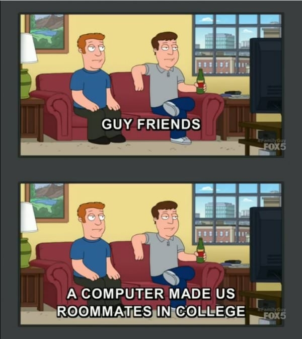 Family Guy knows whats up