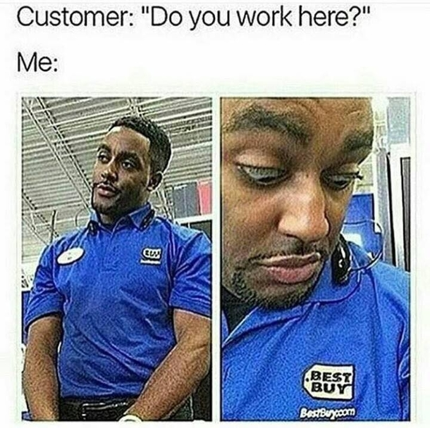 Fellow Formercurrent Retail Employees Know This Pain Meme Guy